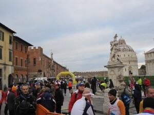 Alles Läufer - keine Touristen