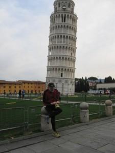Wo ist der Stein - Idylle vor dem Turm