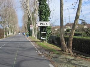 Zurück in Pisa