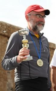 Pokalverleihung Pafos-Marathon
